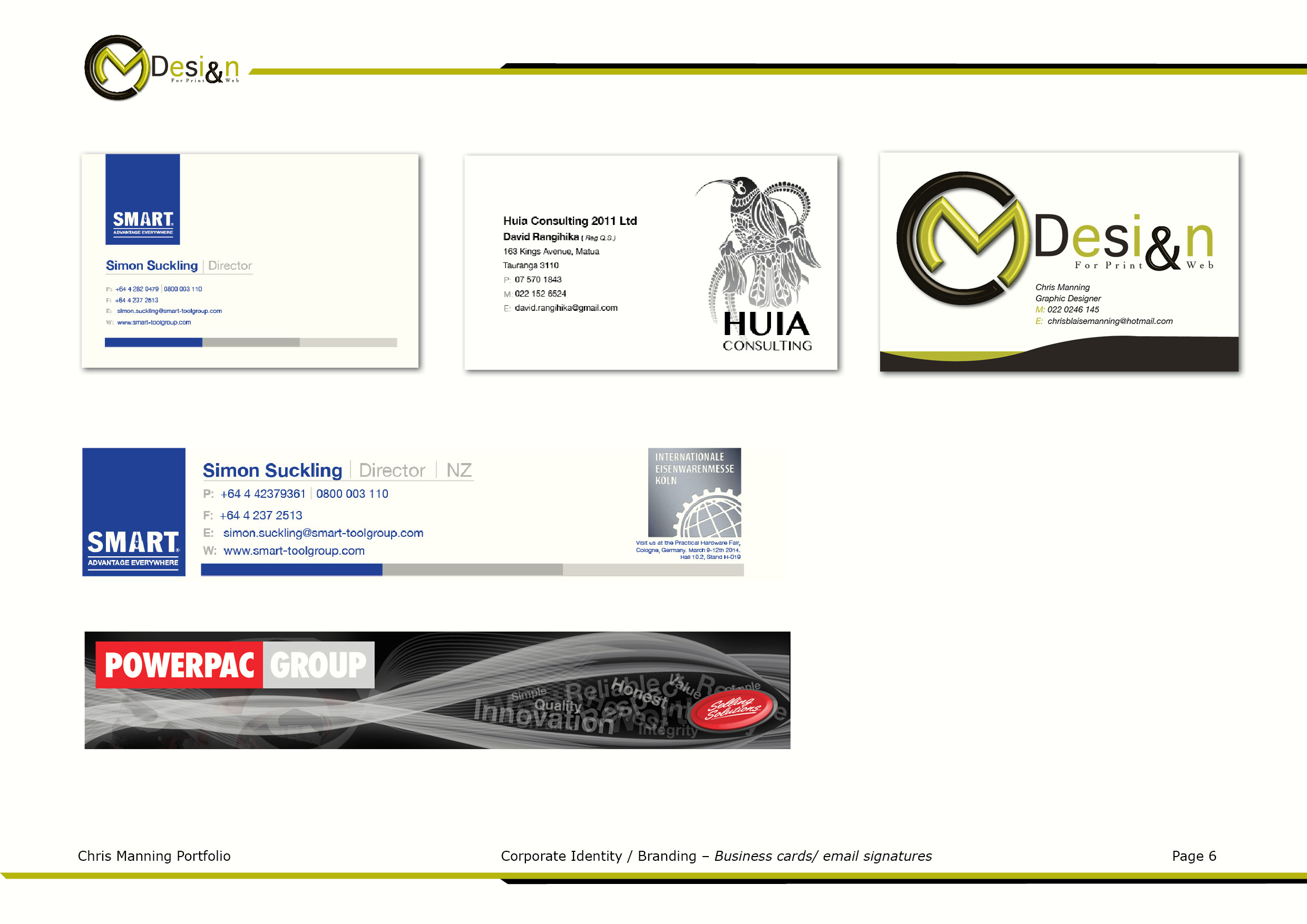 Corporate idbranding business cards and email signatures bc magicingreecefo Image collections